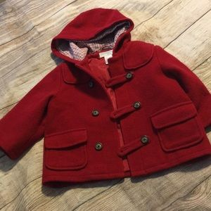 ❤️Jack and Janie adorable red coat great deal!!❤️